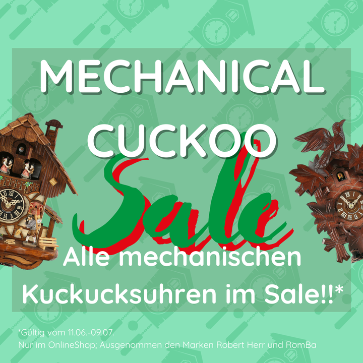 It's going to be a hot summer - getting even hotter with our ONLINE MECHANICAL CUCKOO SALE! All ....