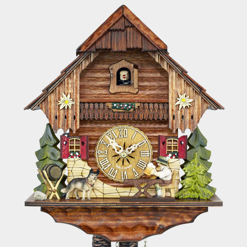 Cuckoo Clock - Black Forest House - Beerdrinker