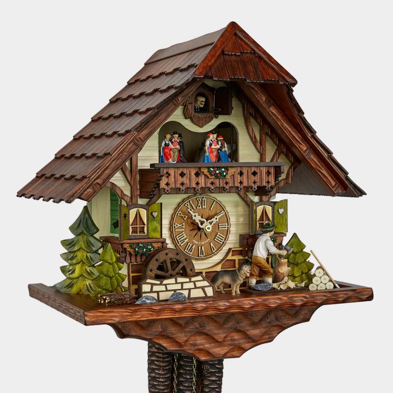 Pendule à coucou - Maison de la Forêt-Noire Bûcheron
