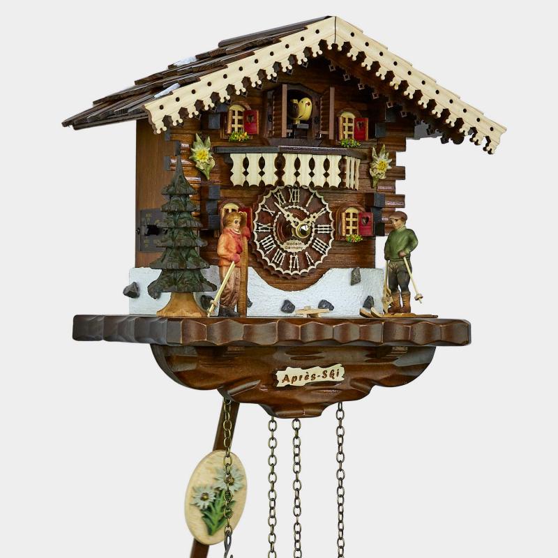 Cuckoo Clock - Chalet - Winter sports