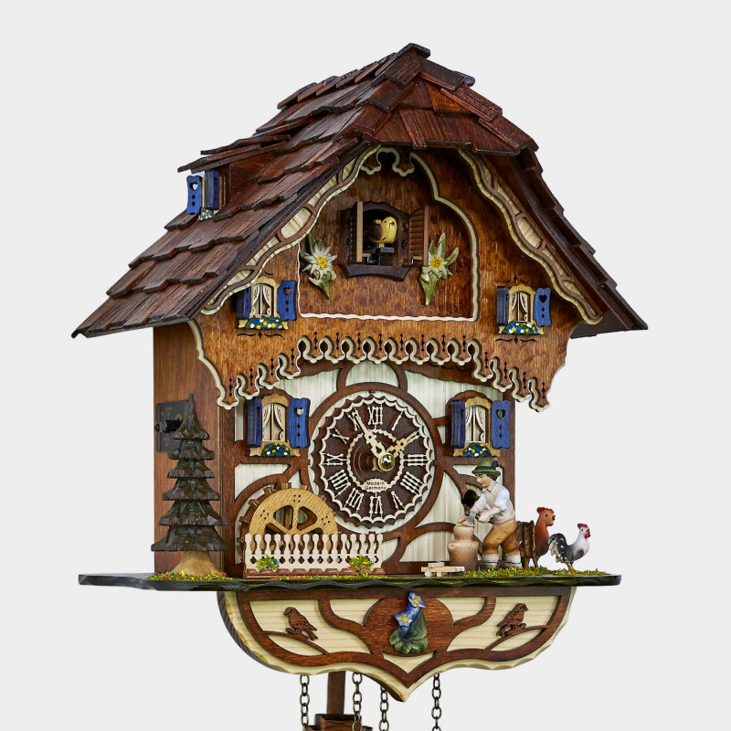 Cuckoo Clock - Woodchopper
