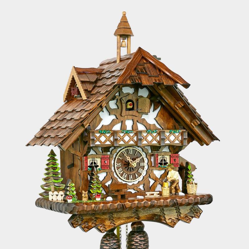 Cuckoo Clock - Black Forest House - Woodchopper