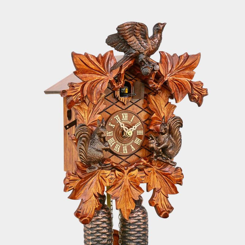 Orologio a cucù - scolpito