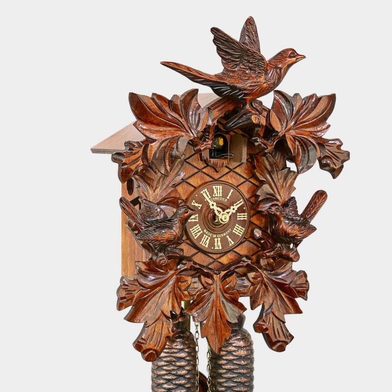 Cuckoo clock - carved