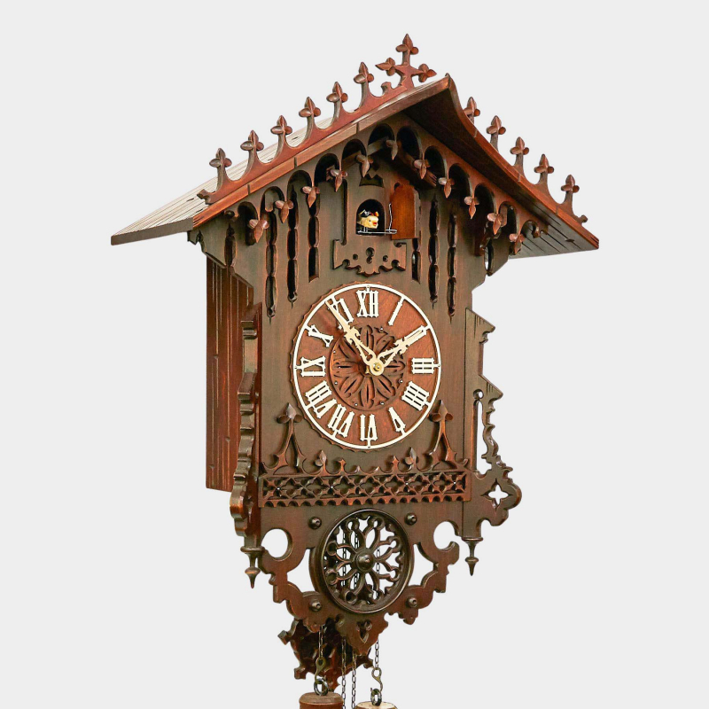 Cuckoo Clock - Gothic, offered exclusively by us