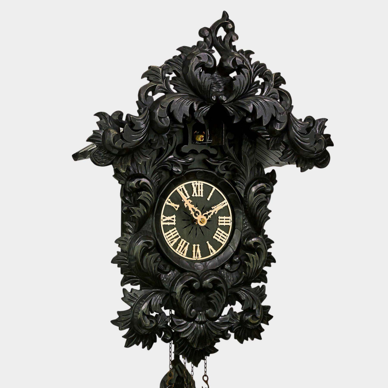 Cuckoo Clock baroque - offered exclusively by us