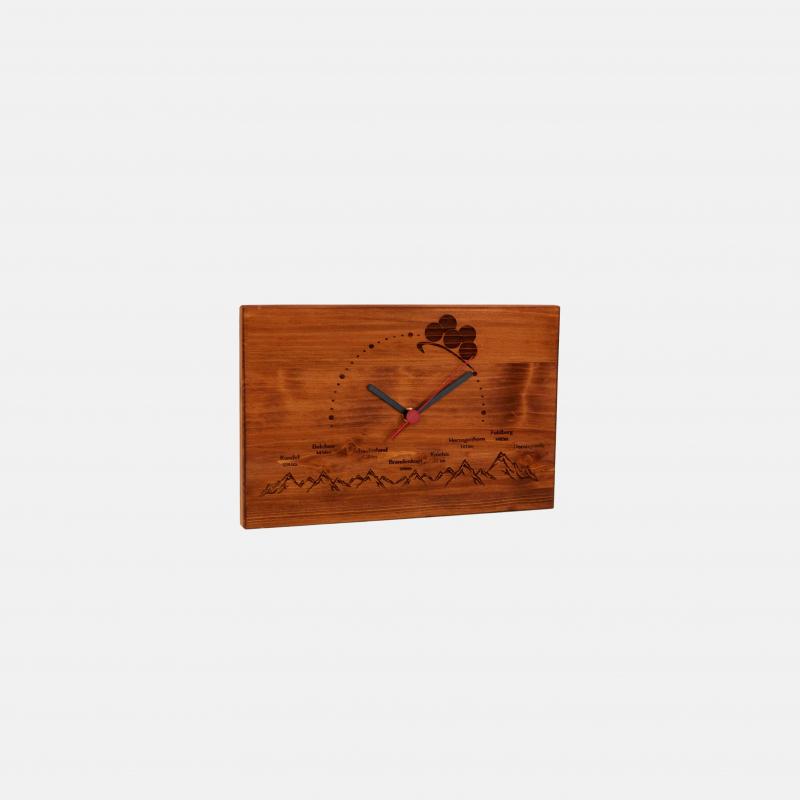 Wall clock Black Forest altitude profile