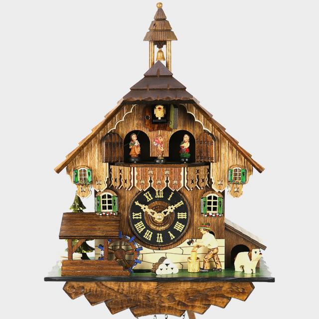 Orologio a cucù - casa della Foresta Nera spaccalegna