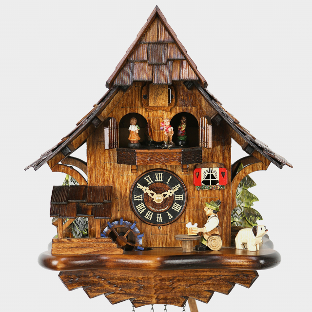 Cuckoo Clock - Black Forest Beerdrinker