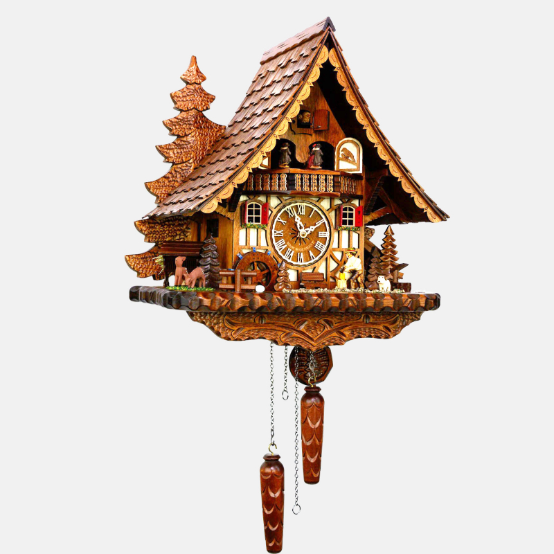 Cuckoo Clock - Black Forest Woodchopper