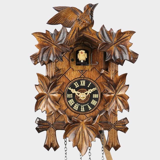 Reloj cuco - Cinco hojas