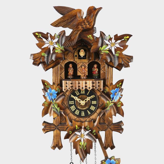 Reloj cúco - Cinco hojas