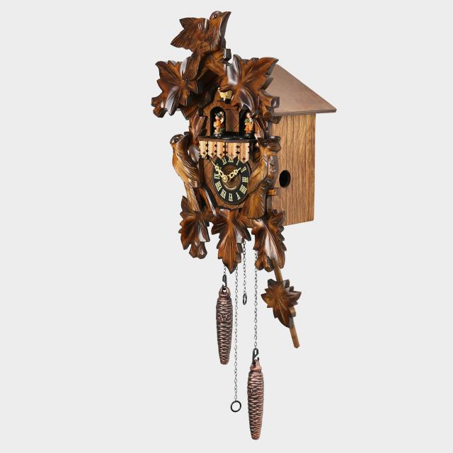 Kuckucksuhr 35cm im Schwarzwald hergestellt NEU handgeschnitzt