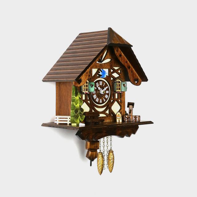 pendulette coucou maison de la for t noire. Black Bedroom Furniture Sets. Home Design Ideas
