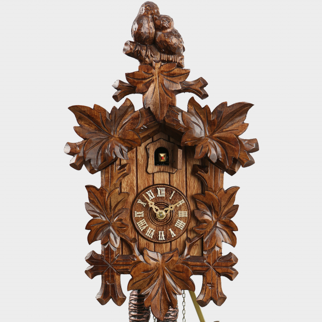 Cuckoo Clock - Five Leaves