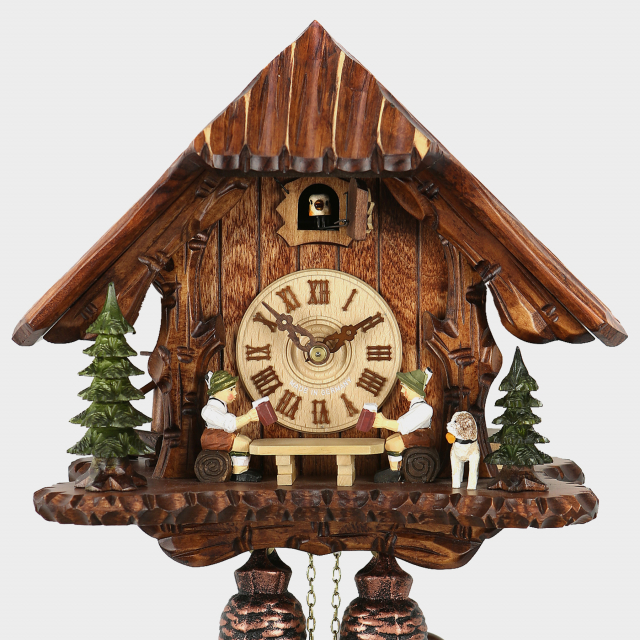 Cuckoo Clock - Black Forest House - Beerdrinker