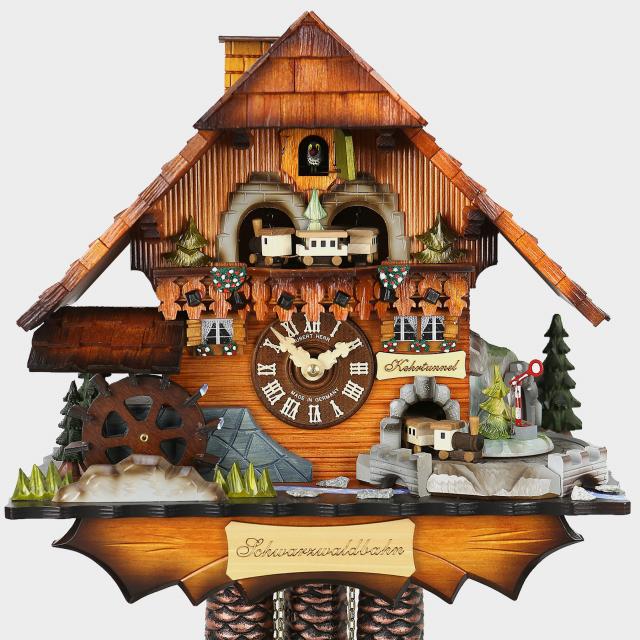 pendule coucou maison de la for t noire kuckucksuhren shop original kuckucksuhren aus. Black Bedroom Furniture Sets. Home Design Ideas