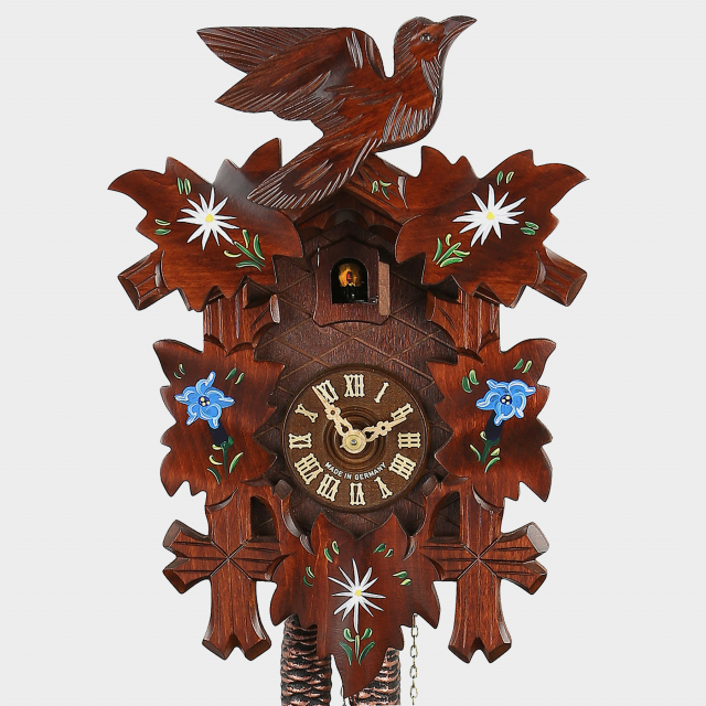 Cuckoo Clock - Five Leaves