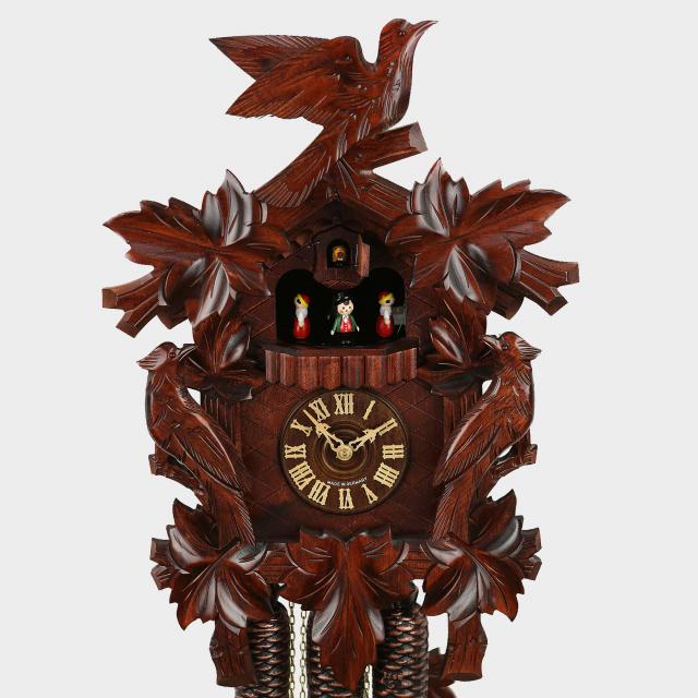 Cuckoo Clock - Three Birds