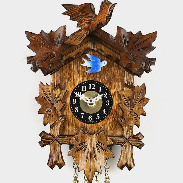 Cuckoo Clock Mini - Five Leaves