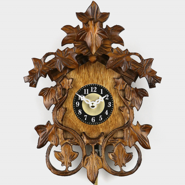 Cuckoo Clock Mini - Leaves