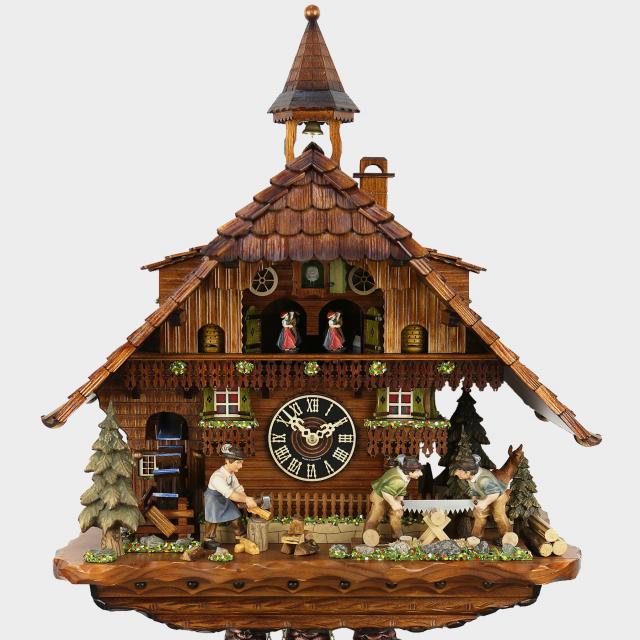 Pendule à coucou - Maison de la Forêt Noire Bûcheron
