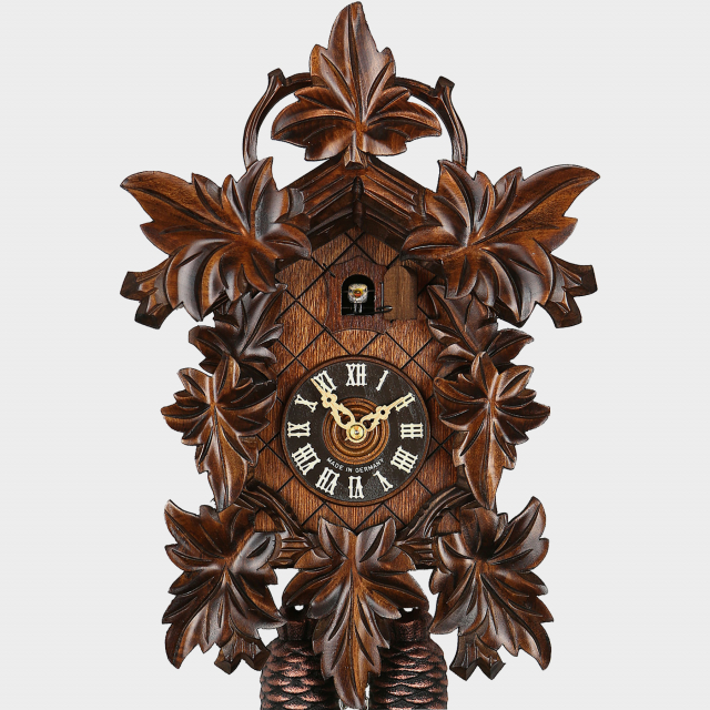 Cuckoo Clock - Leaves