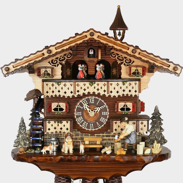 Cuckoo Clock - Chalet Woodchopper