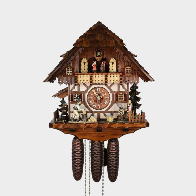 pendule coucou maison de la for t noire b cheron. Black Bedroom Furniture Sets. Home Design Ideas