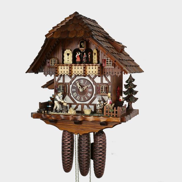 pendule coucou maison de la for t noire b cheron kuckucksuhren shop original. Black Bedroom Furniture Sets. Home Design Ideas