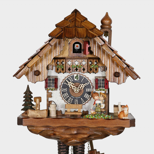 Cuckoo Clock - Black Forest House - Kissing Clock
