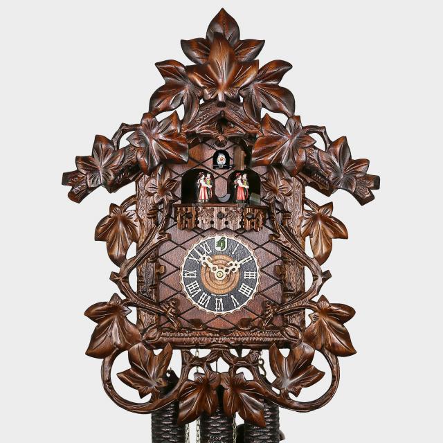 Cuckoo Clock -Leaves