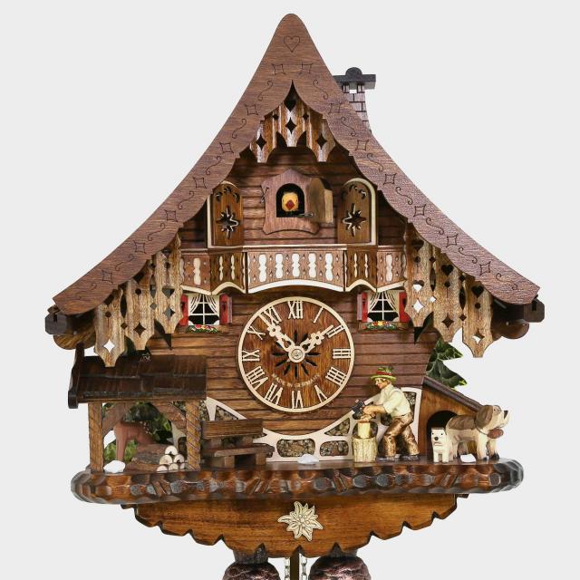 Cuckoo Clock - House -Woodchopper