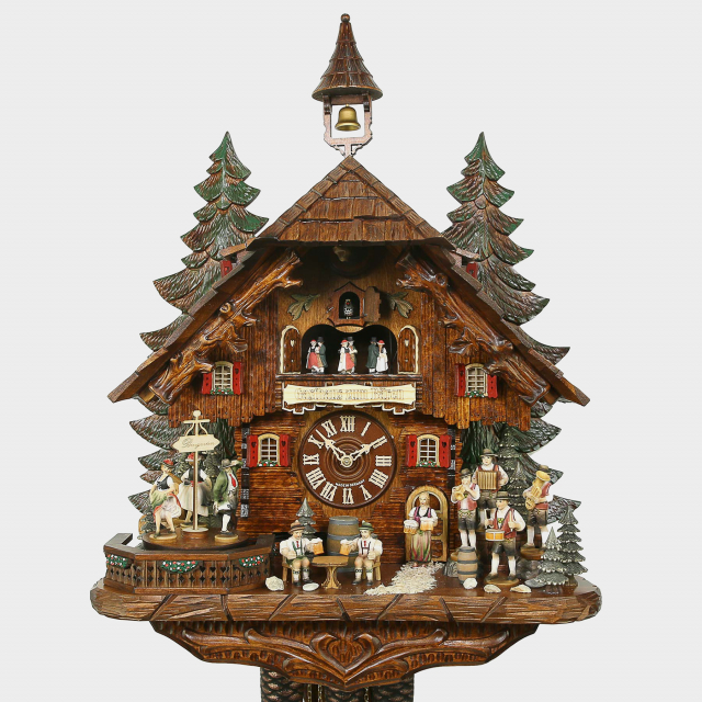 Cuckoo Clock - Black Forest House Beerdrinker