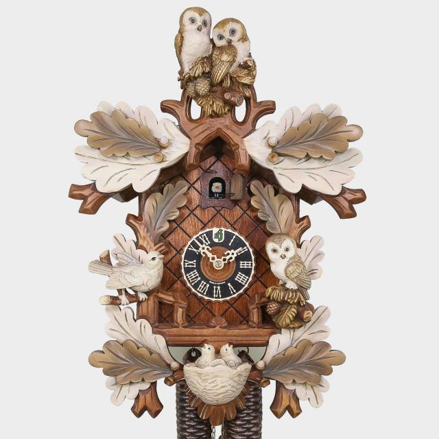 Cuckoo Clock - 5 Leaves