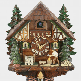 Cuckoo Clock - Black Forest Woodchopper