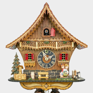 Kuckucksuhr - Chalet - Kissing Clock