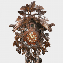 Cuckoo Clock - Entwined Leaves