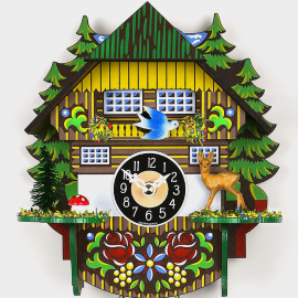 Cuckoo Clock Mini - Black Forest House