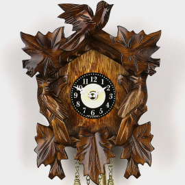 Cuckoo Clock Mini - Three Birds