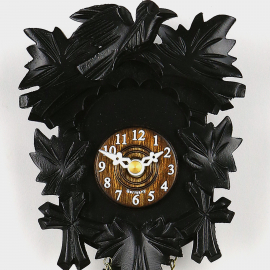 Cuckoo Clock Mini - Five Leaves